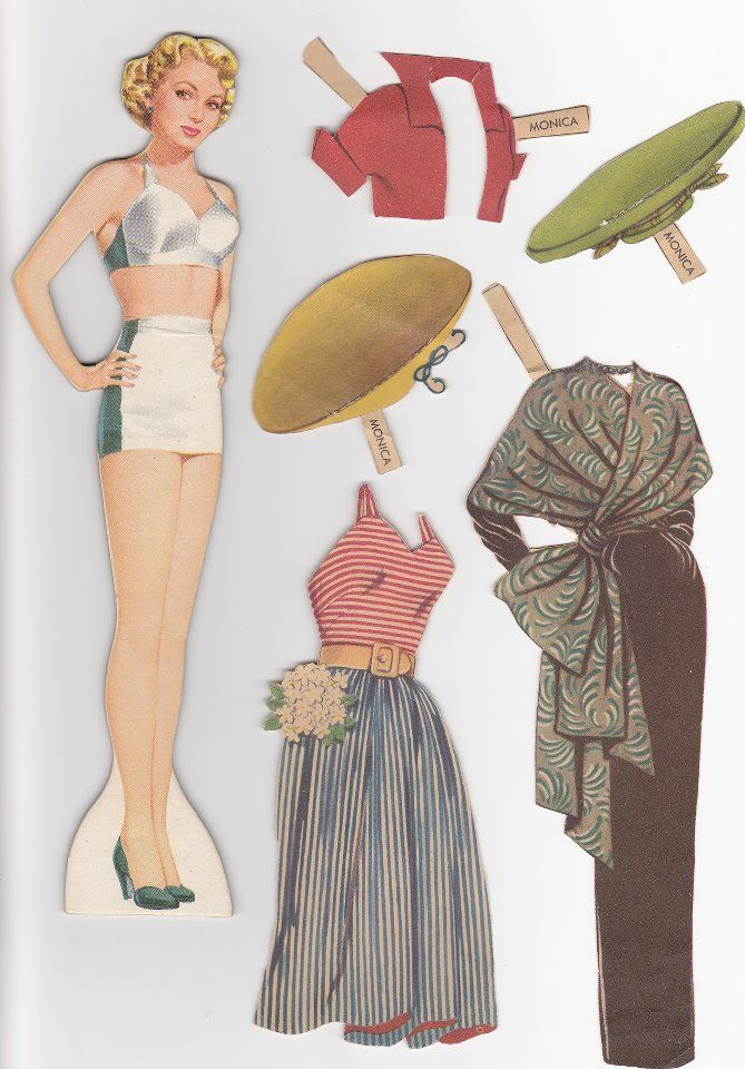 1017 best images about paperdoll 4 on Pinterest