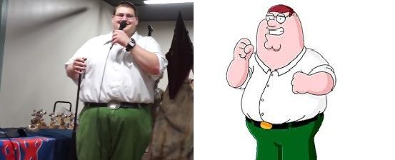 Real Life Peter Griffin Nails His Stand Up Comedy Routine