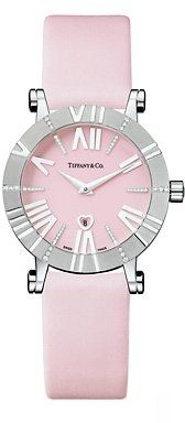 Pink Tiffany watch. SO stylish and I love it and I want it. now.
