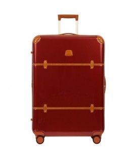 Bric's - Bellagio v2.0 - Valise 32'' rigide 4 roues doubles rouge