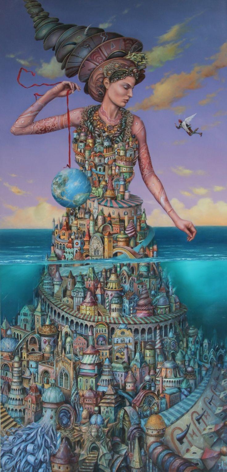 "ArtGalery ° PERSONALART.PL tytuł/title: ""Wzlot Ikara/Flight of Icarus autor: https://www.personalart.pl/tomasz-setowski/wzlot-ikara"