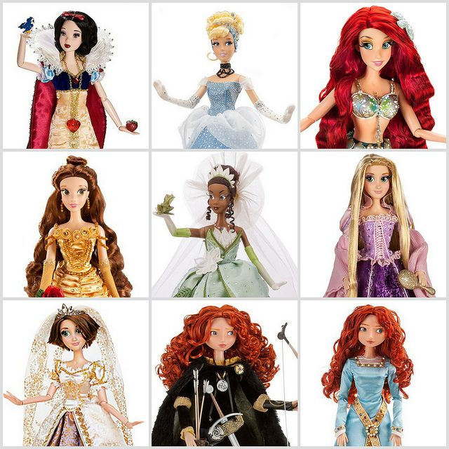 Disney Store Limited Edition Princess Dolls