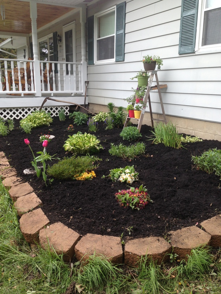 Flower bed yard and landscape ideas pinterest for Garden bed ideas pinterest