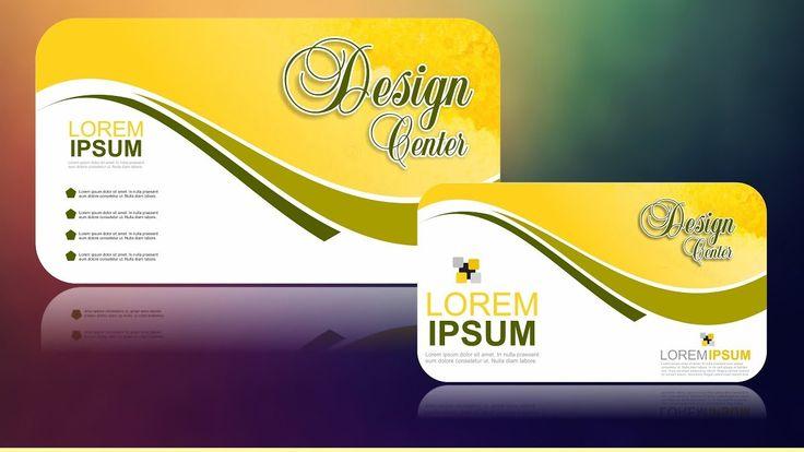 Coreldraw X7 Tutorial Business Card Design 13 With As Graphics Business Card Design Card Design Coreldraw
