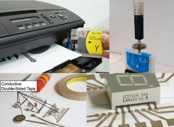Instant Inkjet Circuits with Silver Nanoparticle Ink