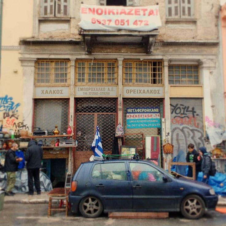 This flea market in Athen would do great in every mafia movie. #greece #griechenland #athens #athen #fleamarket #moviesight #movie #mafia #atmosphere #streetphotograhy #streetlife #citylife #urbanlife #art #publicart #graffiti #graffitiart #brokencar #vwpolo #travelgram #travel