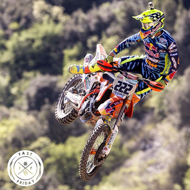 Antonio Cairoli flying high in Trentino! #axoracing #FastFriday #MXGP