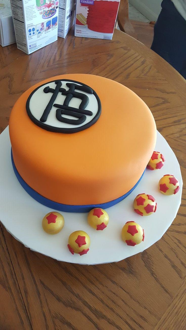 Dragon Ball Z cake. #DBZ #dragonballzcake #dragonball #goku #hermitgi