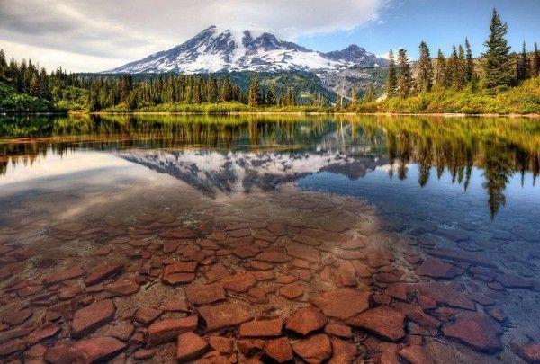 Les plus beaux lacs du Monde - Bench Lake - Washington - USA