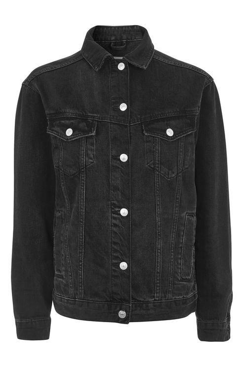 PETITE Oversized Denim Jacket
