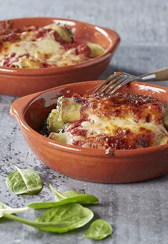 Cannellonis ricotta-épinards à la sauce tomate | Colruyt