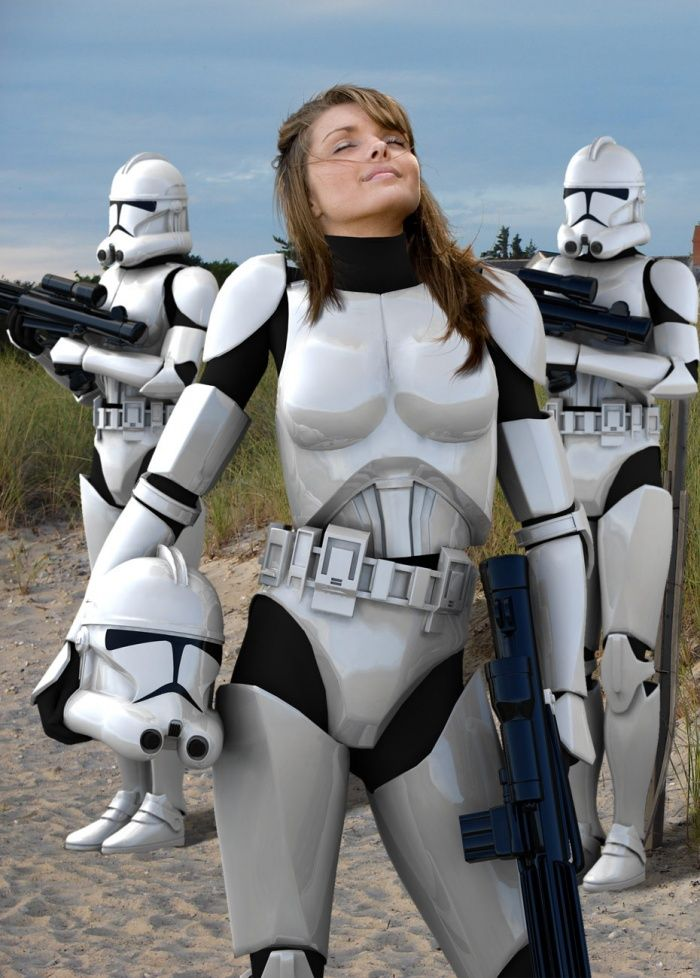 nude female clone troopers
