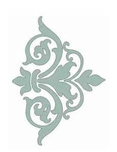 Free printable damask stencil | Free DIY Stencils and stencilling ide ...                                                                                                                                                      More