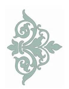 Free printable damask stencil | Free DIY Stencils and stencilling ide ...                                                                                                                                                      More