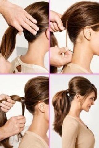 Peinado facil para una fiesta de dia o de noche :)