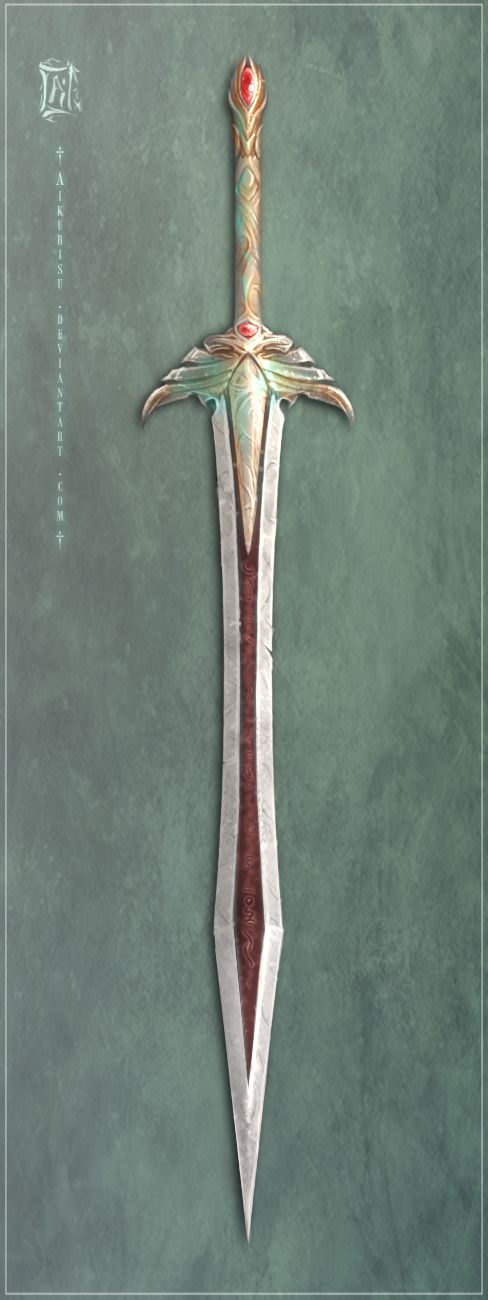 Eldarin's Blade by Aikurisu.deviantart.com on @deviantART