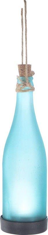 Globo SOLAR Solarleuchte Flasche blau, 1xLED
