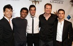 2007 Hot in Hollywood - Sendhil Ramamurthy, James Kyson Lee, Zachary Quinto, Jack Coleman, and Milo Ventimiglia - http://www.sendhilramamurthy.net/gallery/index.php?/category/46#