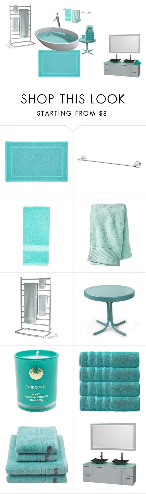 """""""teal bathroom"""" by effyswanhaze ❤ liked on Polyvore featuring interior, interiors, interior design, home, home decor, interior decorating, GANT, Southern Tide, Nate Berkus and Jerdon"""