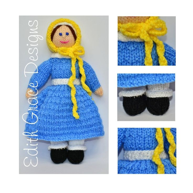 The 26 best Victorian Doll Knitting Pattern images on Pinterest ...
