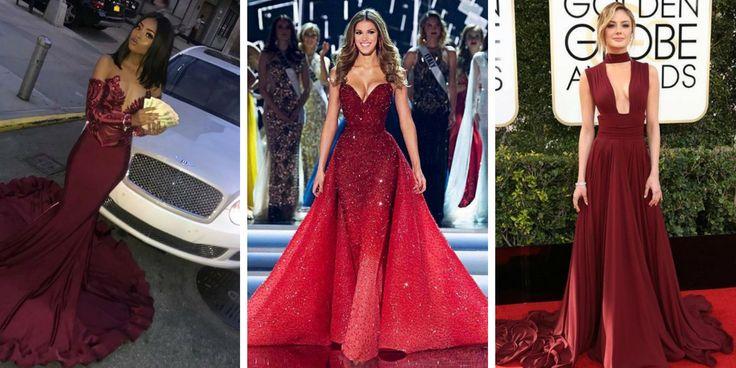 31 Auswahl an trendigen roten Abendkleidern 2018