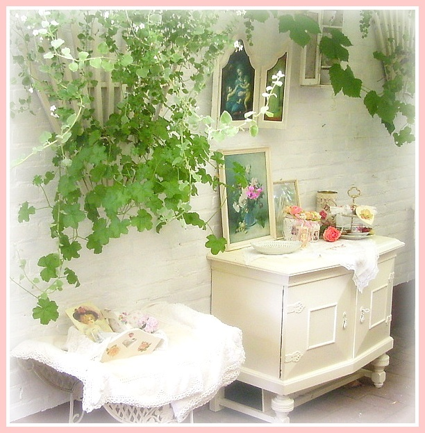 shabby chic garden gardening pinterest. Black Bedroom Furniture Sets. Home Design Ideas