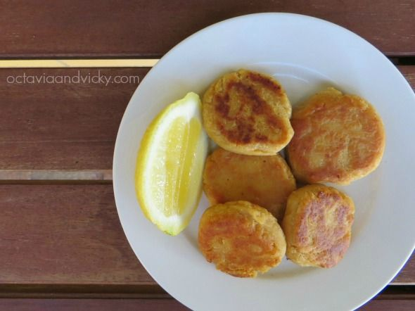 Baby Finger Food Recipes - Baby Led Weaning Recipes - Chickpea Patties