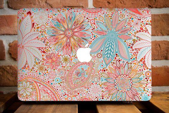 Indian Flowers MacBook Accessories MacBook Air 11 Case MacBook Pro Retina 15 Cover Mac Laptop Hard Case MacBook Pro 15 Cover Travel Gifts