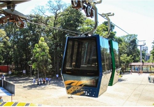 Brasil: Primeiro teleférico de Goiânia começa a funcionar no Parque Mutirama - Prensa Mercosur - El Diario Tv Radio online del Mercosur - Prensa Mercosur - El Diario Tv Radio online del Mercosur