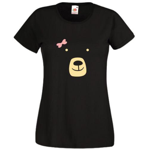 Ursulet cu fundita      Designul reprezinta fata unei simpatice ursoaice cu fundita roz. Pentru barbat exista un design similar, insa cu o mica diferenta, fara fundita roz - Ursulet.         Daca doriti alta combinatie de culori intre elemente, scrieti-ne la observatiile comenzii.