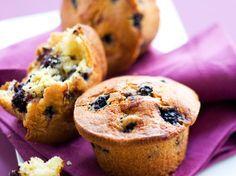 Muffin aux mûres, facile et pas cher