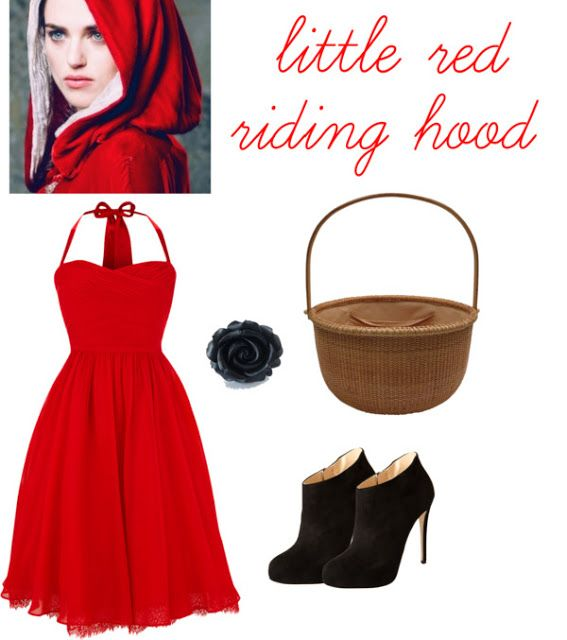Halloween costume ideas for adults in red dresses images
