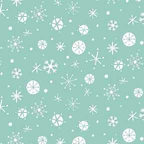 Christmas Wish - Snowflake - Blue