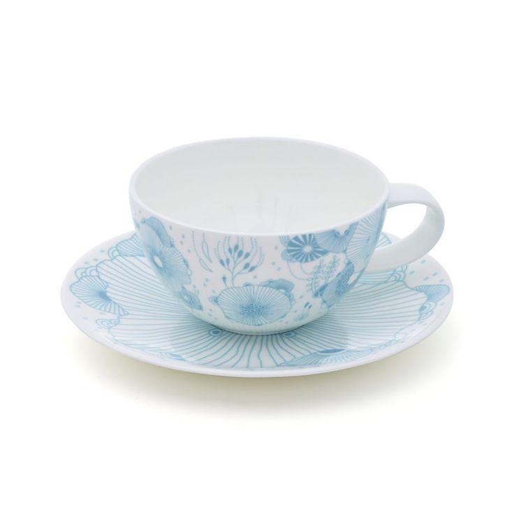 Yellena James Designer Tea Cup in Coffee Mugs & Tea Cups | Crate and Barrel