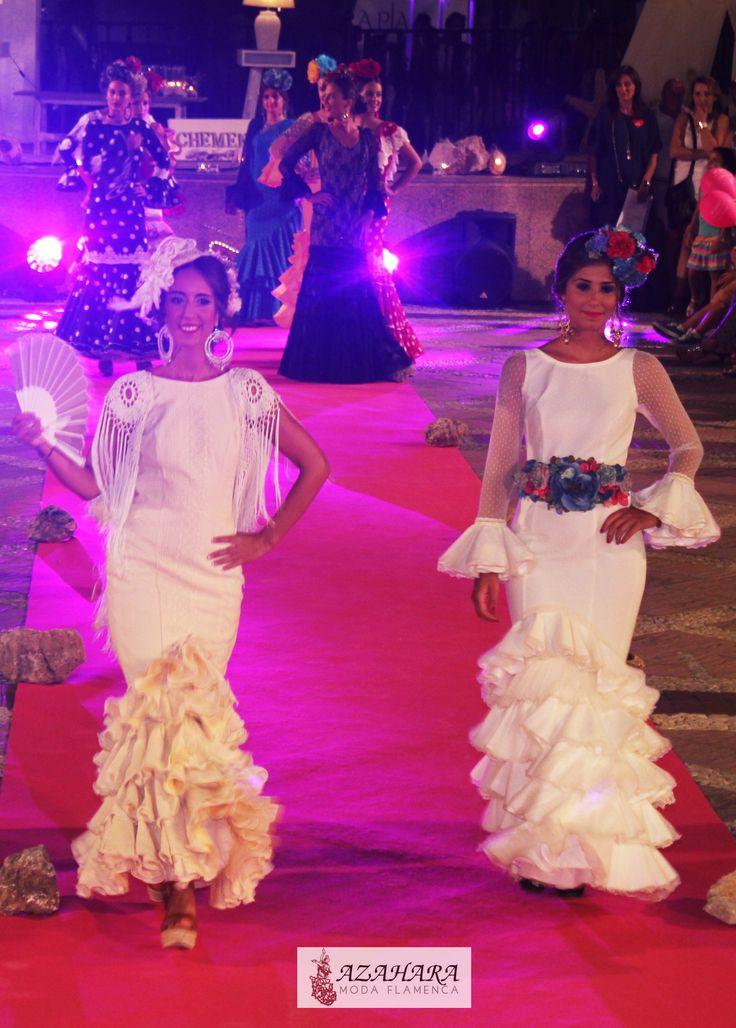 #trajesdeflamenca #azaharamodaflamenca #Fuengirola #complementosdeflamenca #pasarelaflamenca #desfile #modelos #romería flamencodress