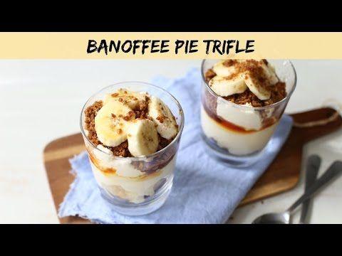 Banoffee pie trifle - Lekker en Simpel