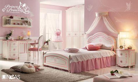 habitación clásica de princesas