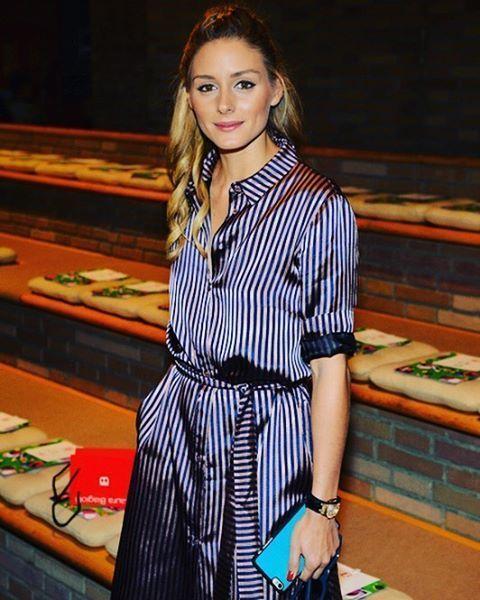 Olivia Palermo at Milan Fashion Week IX