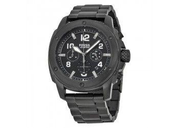 Reloj Fossil R12007. Cronografo negro $558.900