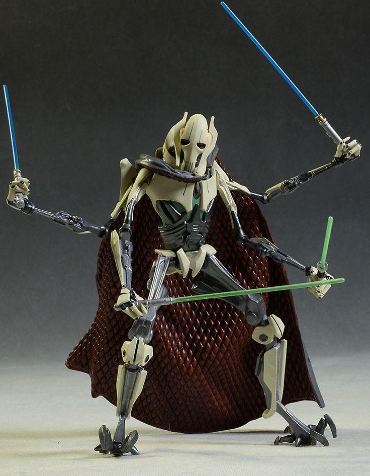 general grievous elite series figure wars