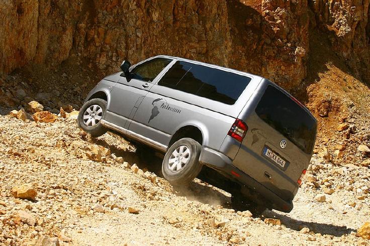 MWerks.com - VW unveils toughened Transporter Rockton TDI 4Motion van for off-roading