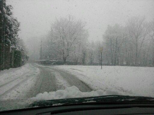 A Big Snow in Rivoli ....