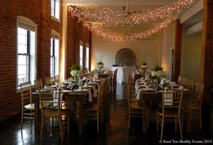 Rustic Farm Tables with Hydrangea Centerpieces  Knot Too Shabby Events Wilmington, NC Event Planning & Wedding Coordination - Event Blog - Knot Too Shabby Events Wilmington, NC Wedding & Event Coordination