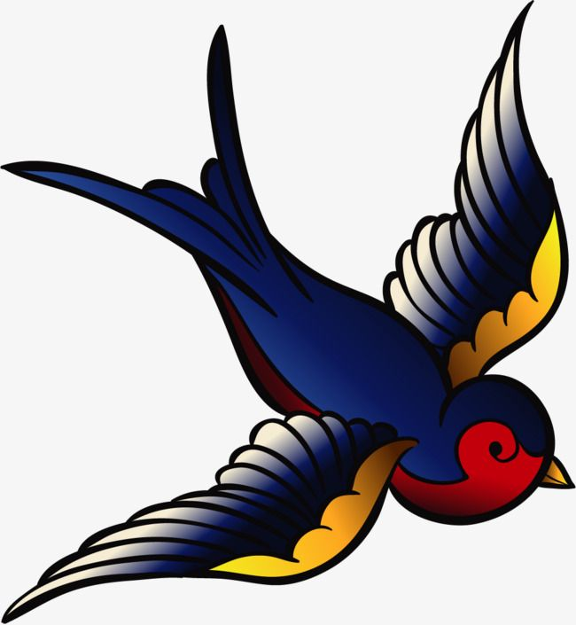 ласточка летящая картинка