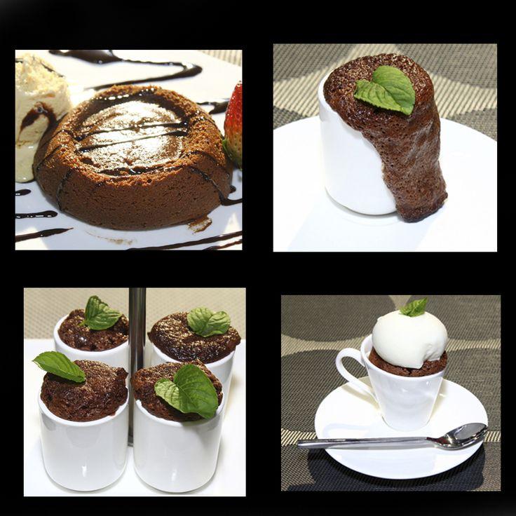 Para uno o para cuatro, desbordante o cremoso, un volcán de chocolate siempre es la mejor opción para una velada romántica.