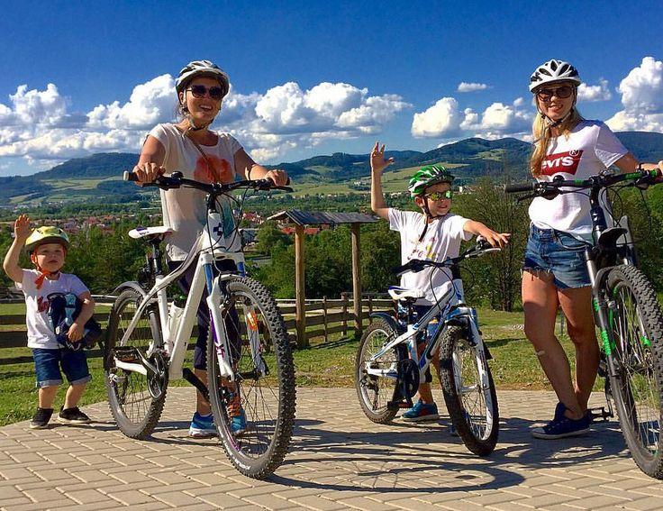 Ударим велопробегом по обжорству и разгильдяйству !!!!   Bicycle races in Skovak mountains — #sport #bicycle #healthy #health #weekend #fitness #people #body #family #sun #like4like #likeforlike #follow #followme #follow4follow #iphone #iphoneography #iph