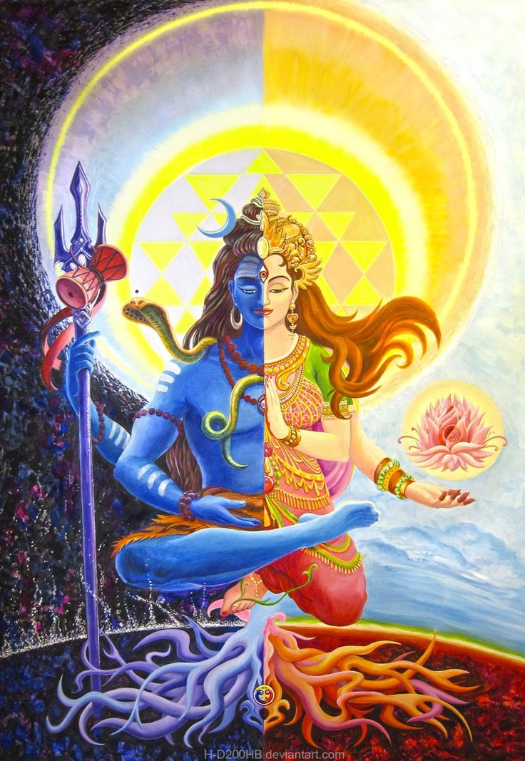 Ardhanarishvara - it's a form of indian god Shiva, when he unites with his goddess, Shakti, and they become one androgynous creature. Well, after my brother showed extremely kind of indifference to...