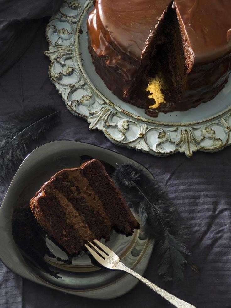 DEVIL'S FOOD CAKE {TARTA DEL DIABLO} – Mi Dulce Valentina