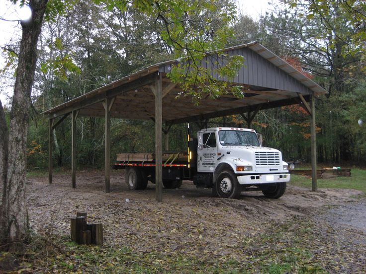 7 best rv carport plans images on pinterest carport for Motorhome garage kits