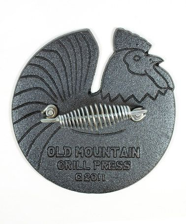 Take a look at this Rooster Cast Iron Grill Press by Old Mountain on #zulily today!